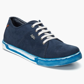 BUCKAROO Laceup Suede Shoes