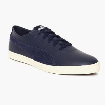PUMA Paneled Design Lace-Up Shoes