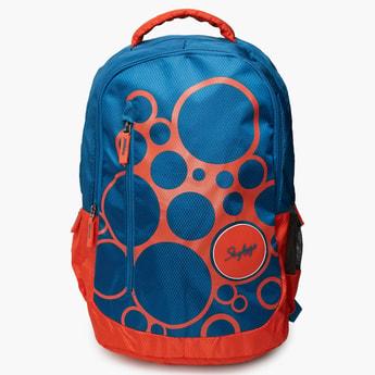 SKYBAGS Printed Zip Closure Backpack
