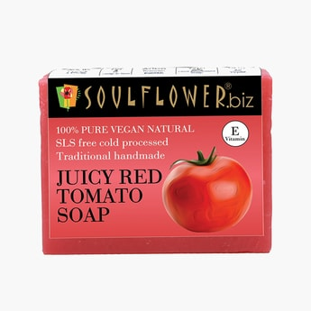 SOULFLOWER Juicy Red Tomato Soap