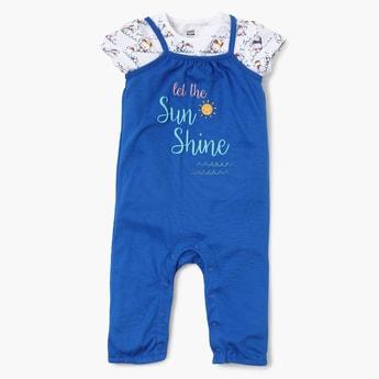 FS MINI KLUB Sunshine Jumpsuit Wit Top Set