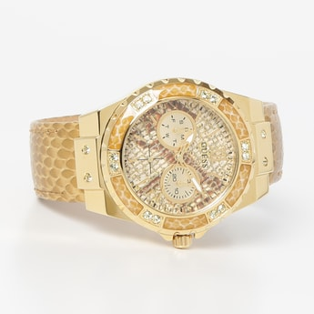 GUESS Women Limelight Water-Resistant Multifunctional Watch - W0775L13