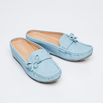GINGER Bow Detail Loafers