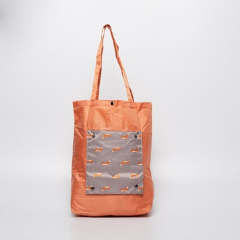 GINGER Printed Foldable Travel Tote