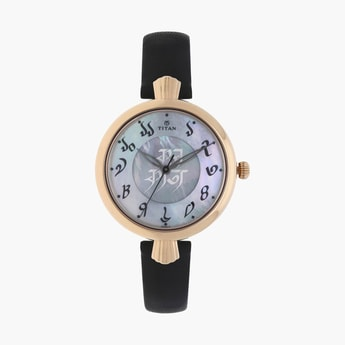 TITAN Forever Kolkata-The Bangla Script  Women Analog Watch - 2580WL01