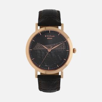 TITAN Men Analog Watch with Leather Strap - 1740WL02