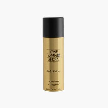JACQUES BOGART Men One Man Show Gold Deodorant Spray- 200ml