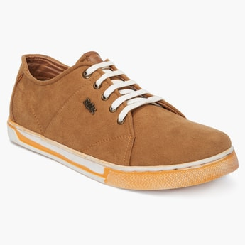 BUCKAROO Suede Laceup Shoes