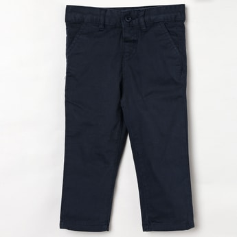 JUNIORS Solid Low Rise Trousers