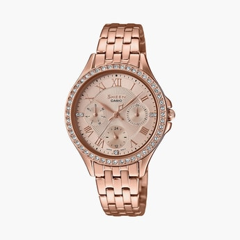 CASIO Sheen Women Water-Resistant Analog Watch - SX219