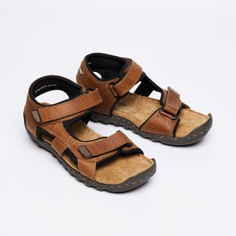 WOODLAND Slingback Sandals with Velcro Closure