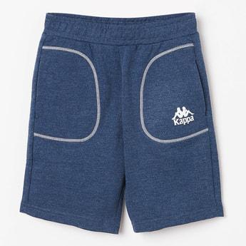 KAPPA Elasticated Waist Heathered Shorts