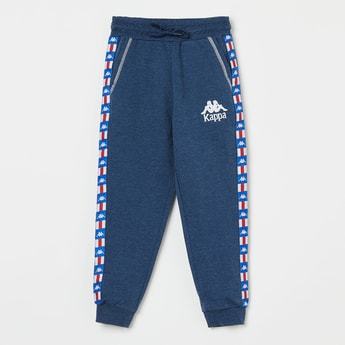 KAPPA Joggers with Printed Taping
