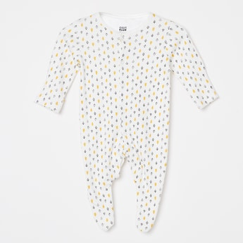 FS MINI KLUB Printed Sleepsuits - Set of 2 Pcs.