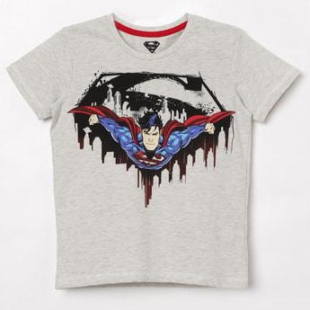 KIDSVILLE Superman Graphic Print T-Shirt