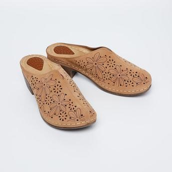 CATWALK Laser-cut Chunky Heels