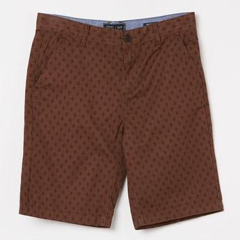 INDIAN TERRAIN Printed Casual Shorts
