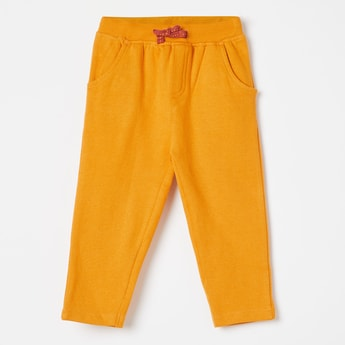 FS MINI KLUB Solid Drawstring Detail Joggers
