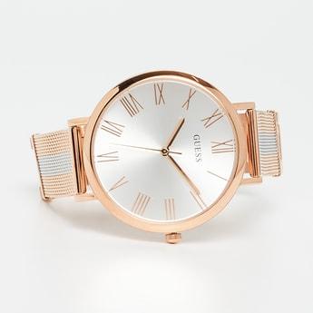 GUESS Women Two-Tone Metal Analog Wristwatch-W1155L4