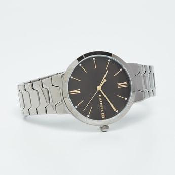 TOMMY HILFIGER Embellished Round Analog Watch - TH1781958