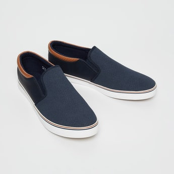 FORCA Perforated Slip-On Casual Shoes