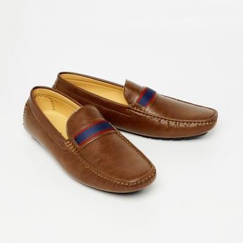 CODE Tape Detail Loafers