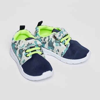 FAME FOREVER Camouflage Print Shoes