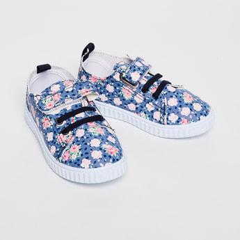 FAME FOREVER Floral Print Shoes