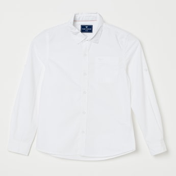 FAME FOREVER Solid Casual Shirt