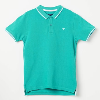 FAME FOREVER KIDS Solid Polo T-shirt