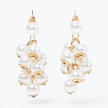 TONIQ Beaded Drop-Earrings