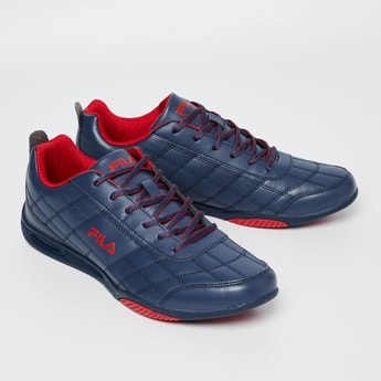 FILA Sterling Plus Quilted Lace-Up Shoes