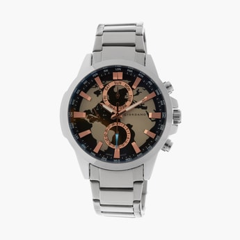 GIORDANO Men World Map Print Multifunctional Watch - R1210-11