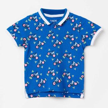 JUNIORS Printed Short Sleeves T-shirt