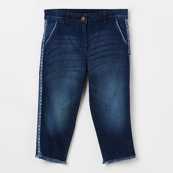 FAME FOREVER KIDS Stonewashed Low-Rise Jeans