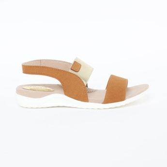CATWALK Colourblock Slingback Flat Sandals