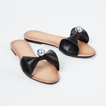 CATWALK Embellished Slip-On Sandals