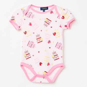 JUNIORS BASICS Printed Bodysuits - Pack of 3 Pcs.