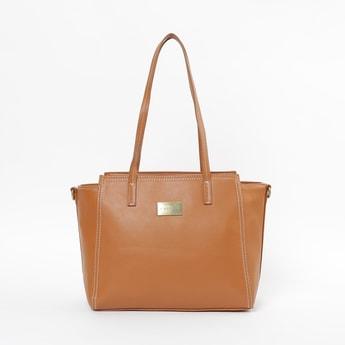 CAPRESE Solid Shoulder Bag with Detachable Strap
