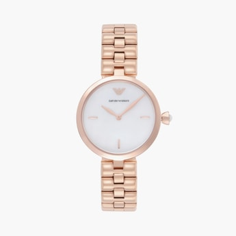 EMPORIO ARMANI Elegant Women Water-Resistant Analog Watch - AR11196