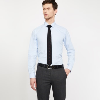 CODE Patterned Weave Casual Tie