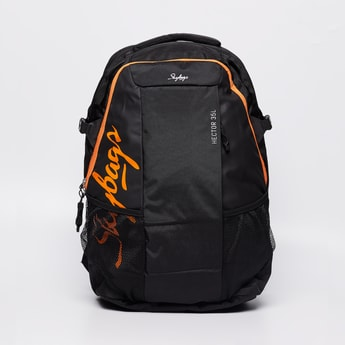 SKY BAGS Printed Backpack with Rain Cover
