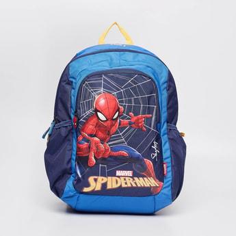 SKY BAGS Spiderman Print Zip-Closure Backpack