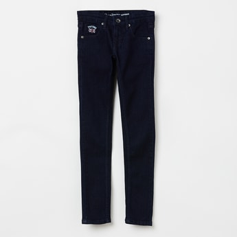 PEPE JEANS Solid Low-Rise Jeans