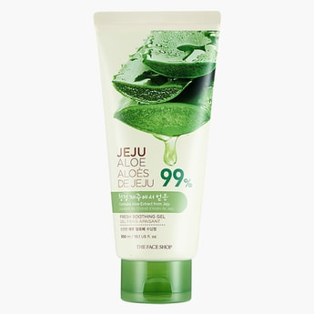 THE FACE SHOP Jeju Aloe Fresh Soothing Gel Tube