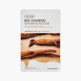 THE FACE SHOP Real Nature Red Ginseng Face Mask