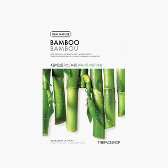 THE FACE SHOP Real Nature Bamboo Face Mask