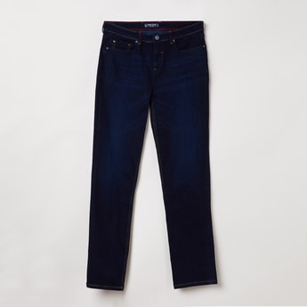 ALLEN SOLLY Lightly Washed Jeans