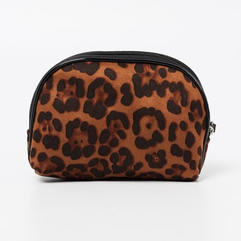 GINGER Animal Print Pouch