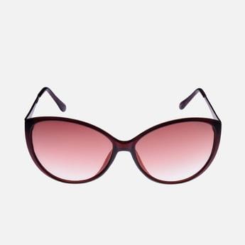 GIORDANO Women Solid UV-Protected Cat-Eye Sunglasses - GA90195C10